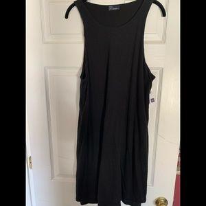 Gap black cotton dress sz L worn 1x